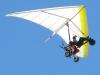 Glider Flying Free Over Slab City