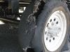 Repairing Fifth Wheel Trailer Tire Blowout