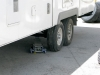 Repairing Fifth Wheel Trailer Tire Blowout