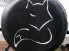 Arctic Fox Logo Tire Cover