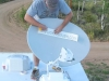 LiveWorkDream RV Satellite Dish Vinyl