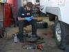 Repacking Fifth Wheel Trailer Bearings and adjusting brakes