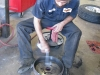 Repacking Fifth Wheel Trailer Bearings and adjusting brakes