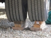 Wood Tire Blocks Bad for RV Tires