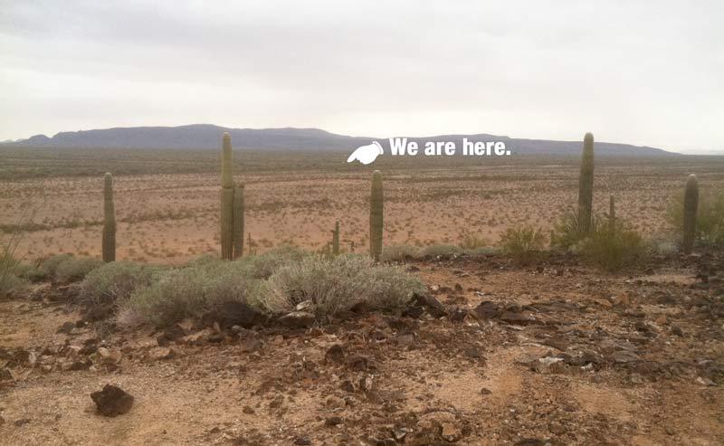 Free RV Boondocking Ajo, AZ