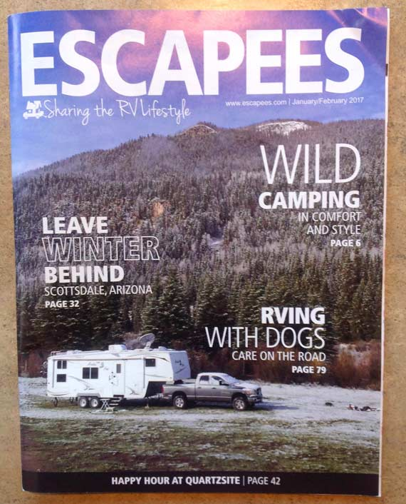 Escapees Magazine Cover