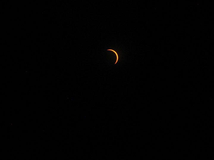 2017 Total Eclipse Wyoming Partial with Glasses