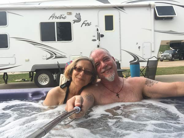 Fort Collins KOA Resort Hot Tub Site
