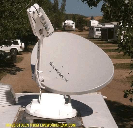 How to Fix Bad Skew Count Error on RVDataSat Satellite Internet Dish