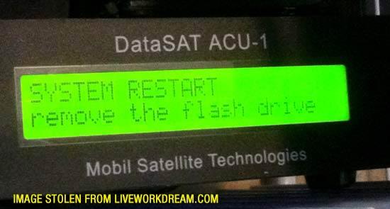 DataSat ACU-1 Satellite Dish Controller