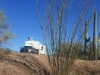 Free Boondocking RV Site, Ajo Arizona