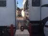 RV park packs campers