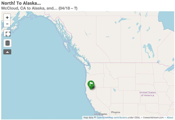 Alaska Map Start