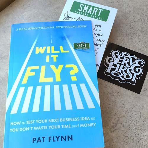 Pat Flynn, Will It Fly?