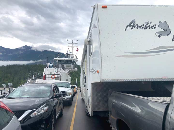 Arrow Lake Ferry, BC