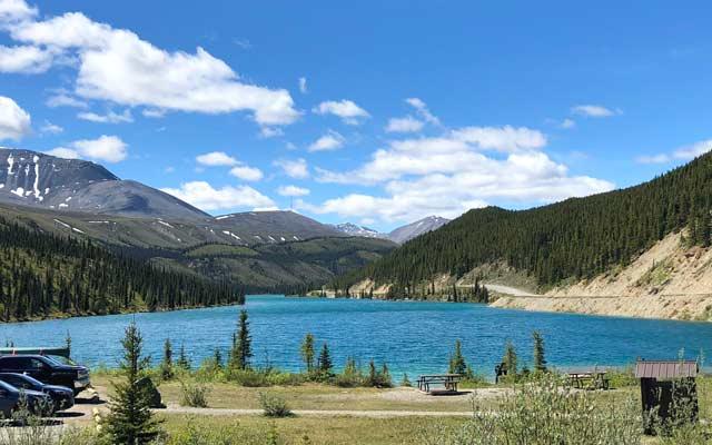 Summit Lake, British Columbia