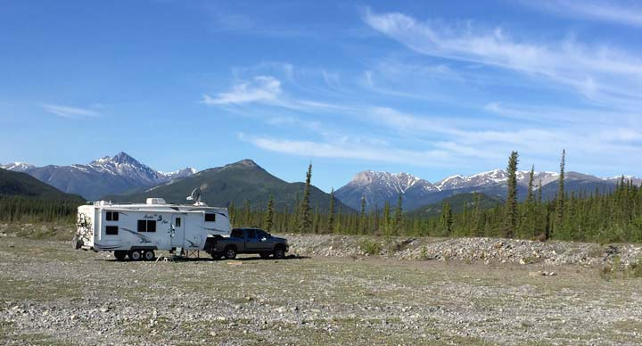 Petersen Creek RV Boondocking