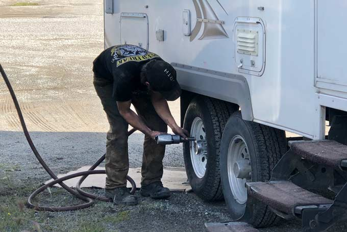 Ordering RV Tires Online