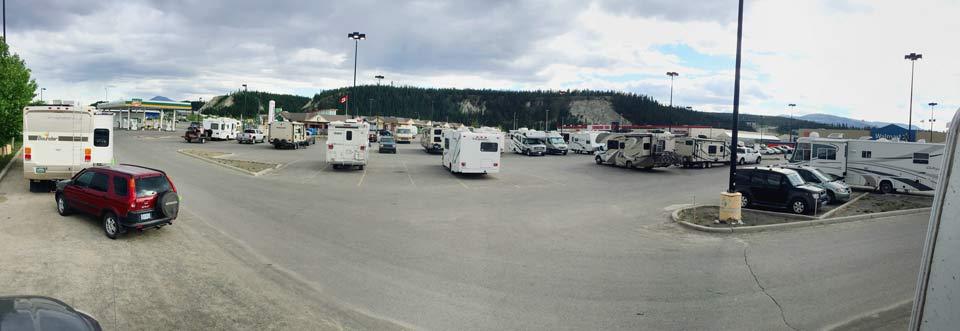 Walmart free camping spot
