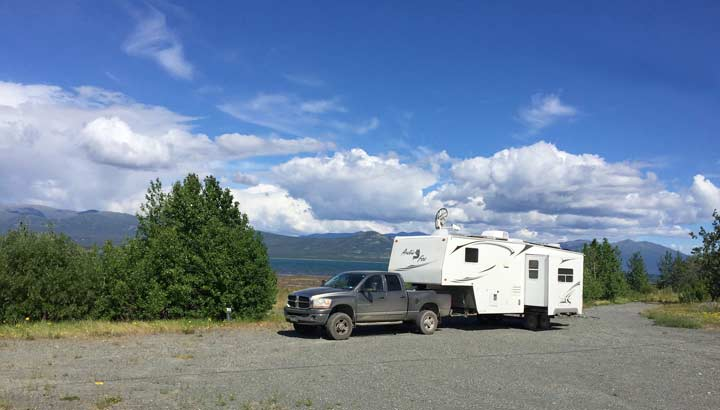 boondocking in Alaska