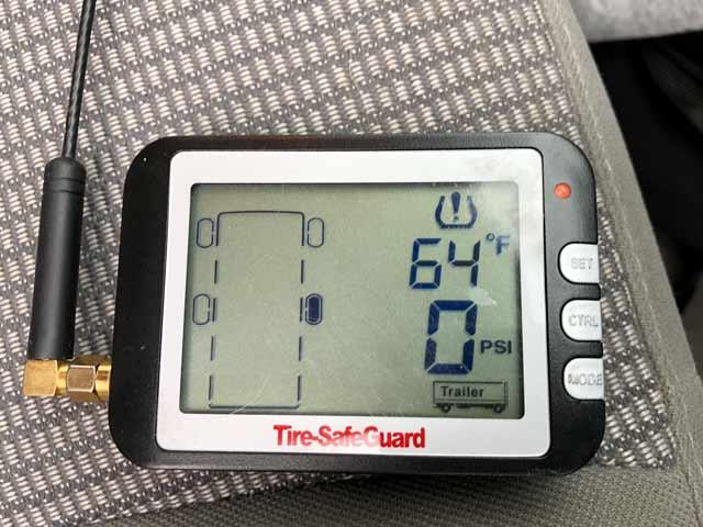 TPMS Flat Tire Alarm