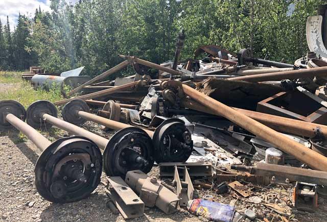 Broken RV Axles