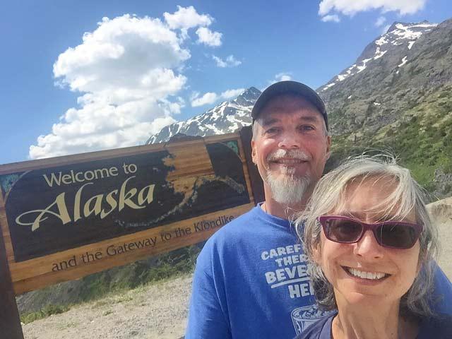 Alaska Yukon Border