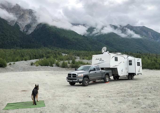 Haines, Alaska RV Boondocking