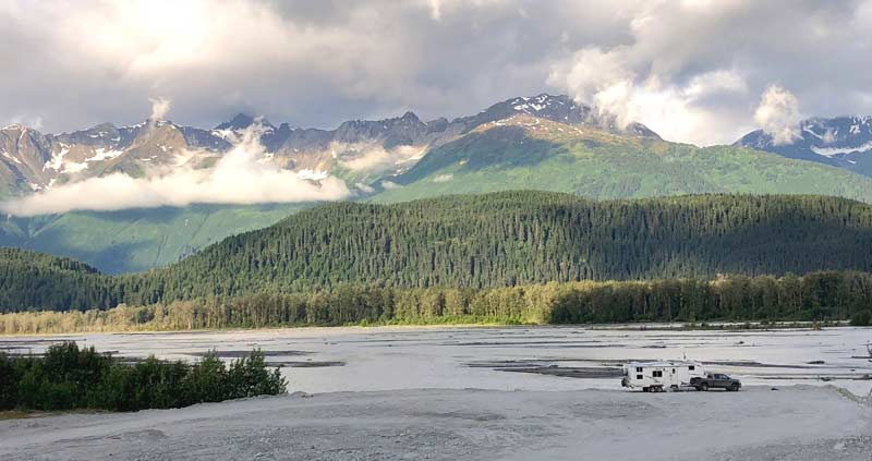 Southeast Alaska RV cruise