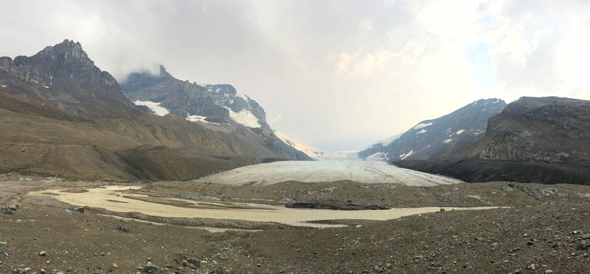 Columbia Icefields Climate Change Reality Check