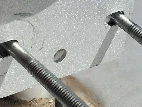 weBoost antenna bracket