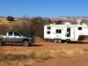 Sedona Arizona boondocking wth solar power and satellite internet