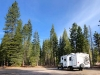 Boondocking near Mount Shasta, California