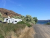 Free Boondocking at Banks Lake, Coulee City WA