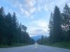 Highway at Tukaluk Campground Faquier, BC