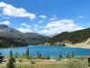 Summit Lake on Highway 97 in Brittish Columbia