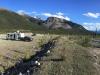 Free Boondocking along Petersen Creek in BC, Canada