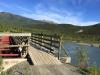 Toad River ATV Bridge at Petersen Creek, BC Canada