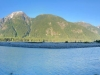 Salmon River fishing spot near Hyder, Alaska
