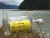 Message in A Bottle at the mouth of the Salmon River