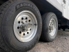 New Trailer Tire after Flat on Cassiar Highway