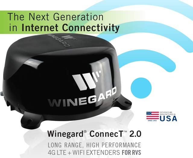 Winegard Connect 2 0 Mobile Rv Internet With No Contract