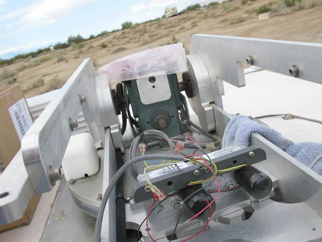 MotoSat F2 Motor Repair in Slab City