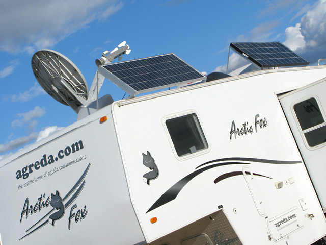 RV Solar Power System System Upgrade for Agreda