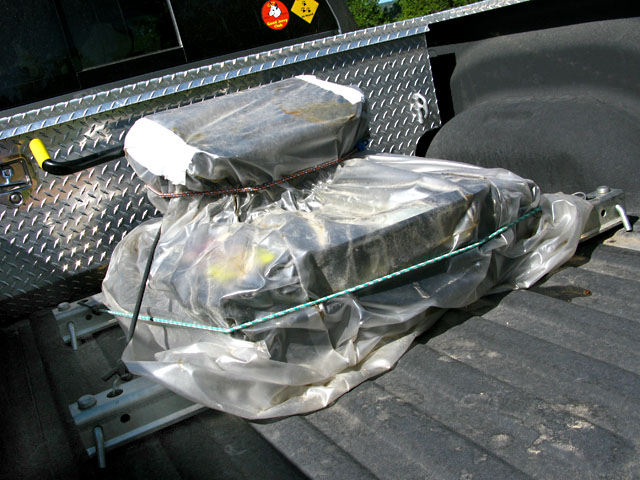Pullrite Fifth Wheel Hitch Wrapped for Summer