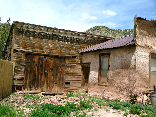 Jemez Springs Old Hot Sulphur Bath House