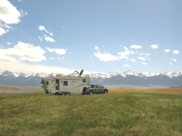 Free BLM Boondocking Deweese Lake Colorado
