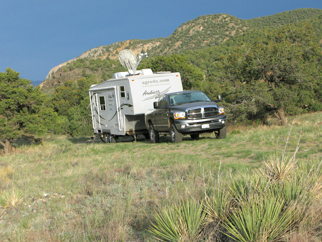 BLM Boondocking HWY 50 Salida, CO
