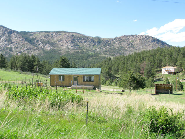 Cedar Springs house on two acres