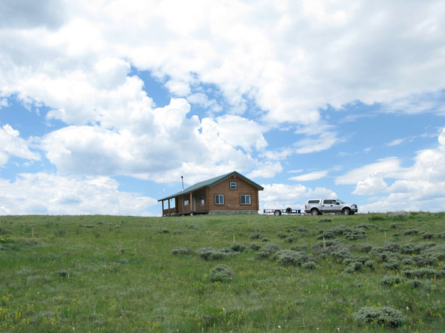 Sand Creek Off Grid Cabin